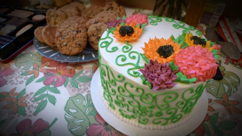 birthday cake large