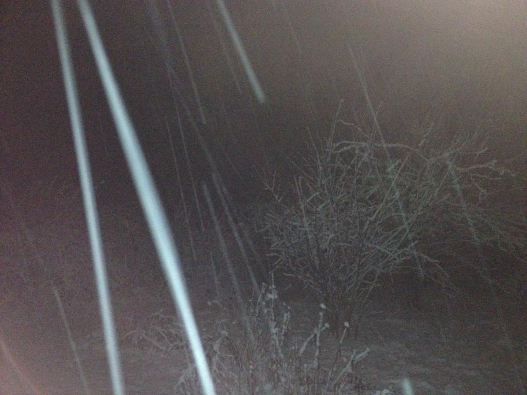snow streaks